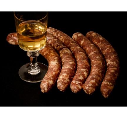 Saucisses au vin d'Arbois